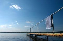 Summer bridge Stock Photo
