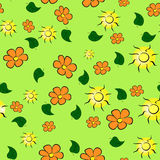 Summer bright pattern Royalty Free Stock Images