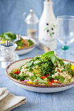 Summer Bulgur Salad Royalty Free Stock Photography