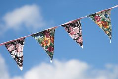 Summer Bunting Royalty Free Stock Image