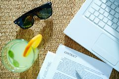 Summer business Royalty Free Stock Image
