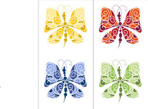 Summer butterfly Stock Image