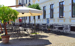 Summer cafe terrace Royalty Free Stock Photography