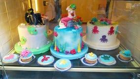 Summer cake design Stock Image