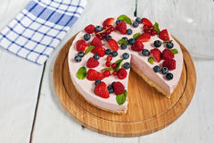Summer cake Stock Photo