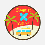 Summer is calling Royalty Free Stock Photo
