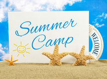 Summer camp Royalty Free Stock Photo