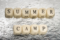 Summer camp Royalty Free Stock Photos