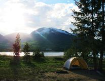Summer Camping Royalty Free Stock Image