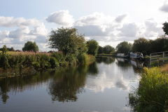 Summer Canal Stock Photo