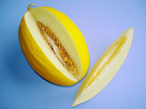 Summer Canary Melon Stock Photography