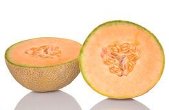 Summer Cantaloupe Royalty Free Stock Images