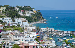 Summer on Capri island Royalty Free Stock Photo