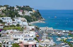 Summer on Capri island Royalty Free Stock Photo