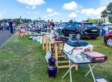 Summer car boot sale Stock Images