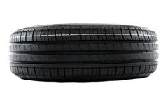Summer car tire Royalty Free Stock Image