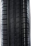 Summer car tire Stock Photos