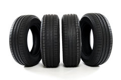 Summer car tires Royalty Free Stock Photo