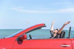 Summer car trip vacation . Royalty Free Stock Image
