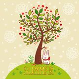Summer card. Stock Photo