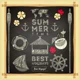 Summer Card Stock Photos
