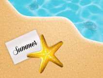 Summer card Stock Photography