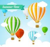 Summer Card. Vector Stock Photo