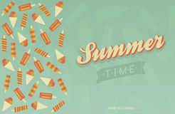 Summer card Royalty Free Stock Images