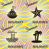 Summer card Stock Photo
