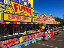 Summer Carnival Food Royalty Free Stock Photo
