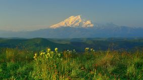 Summer in Caucasus Stock Photography