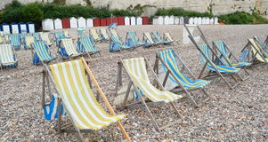 Summer chairs Royalty Free Stock Photography