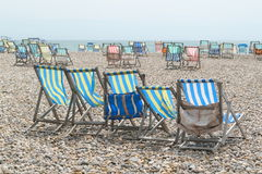 Summer chairs Royalty Free Stock Photos