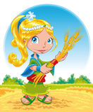 Summer - character Royalty Free Stock Image