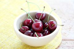 Summer cherries Stock Photography