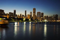 Summer in Chicago Royalty Free Stock Images