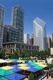 Summer in Chicago Royalty Free Stock Photos