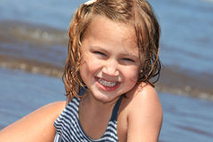 Summer child Royalty Free Stock Images