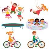 Summer children activities Stock Image