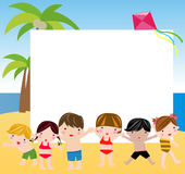 Summer children Royalty Free Stock Photo