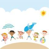 Summer children royalty free illustration