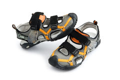 Summer Children Shoes Stock Photo