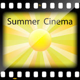 Summer Cinema Stock Photo