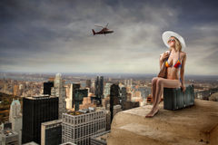 Summer in the city Stock Photography