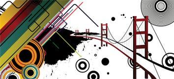 Summer City. Illustration of modern design architecture Stock Photo