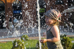 Summer in the city Royalty Free Stock Photo
