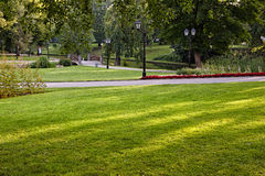 Summer city park Royalty Free Stock Photos