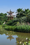 Summer classical Chinese garden Royalty Free Stock Image