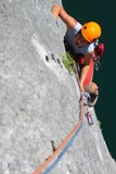 Summer climbing Stock Photo