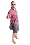 Summer clothes for men concept Stock Photos